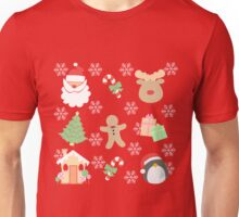 Santa & His Helpers #1 Unisex T-Shirt