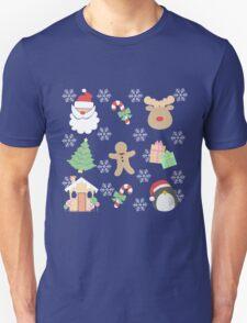 Santa & His Helpers #1 T-Shirt