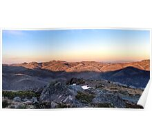 Towards Mt Feathertop Poster