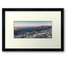 Upper Kiewa Valley Framed Print