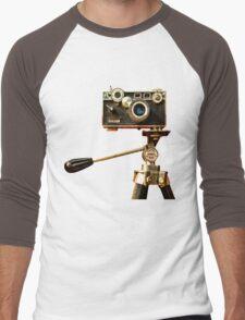 Vintage Argus Camera & Tripod Men's Baseball ¾ T-Shirt