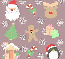Santa & His Helpers #3 by simplepaperplan