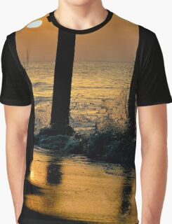 2nd Ave Pier Sunrise Graphic T-Shirt