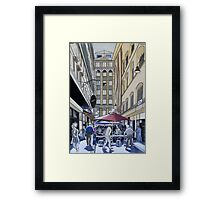 The Majestic Majorca Building in Melbourne Framed Print