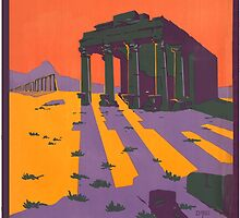 Vintage poster - Syria by mosfunky