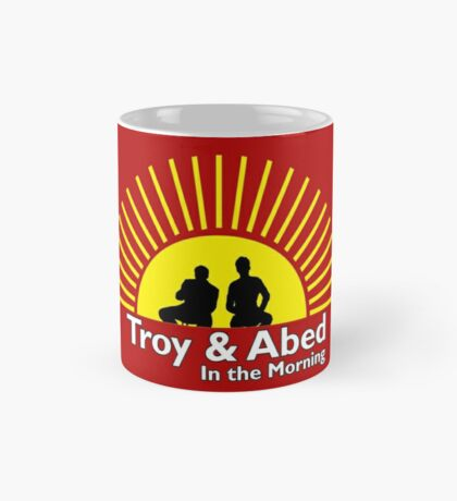 Troy and Abed in the Morning: Mugs | Redbubble