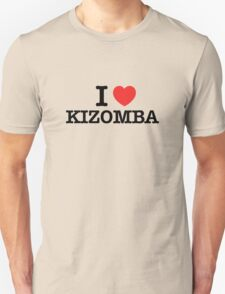 I Love KIZOMBA T-Shirt