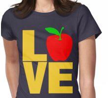 ღ♥Love Apple Clothing & Stickers♥ღ Womens Fitted T-Shirt