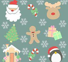 Santa & His Helpers #4 by simplepaperplan