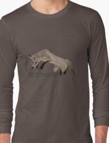 Red Fox Ink & Brush Long Sleeve T-Shirt