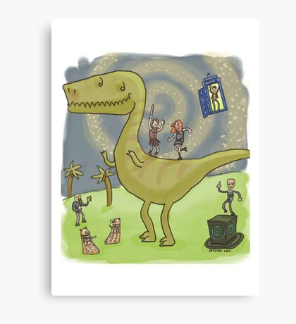 Party with the Ponds Canvas Print