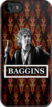 Bilbo Baggins The Hobbit [ black and white ] by picky62version2