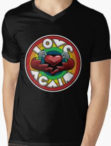 Love Again Mens V-Neck T-Shirt