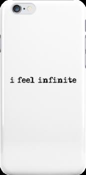 I feel infinite  by shoffman12