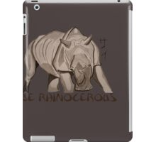 Rhino Ink and Brush iPad Case/Skin