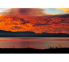 Fire in the Sky! Photographic Print
