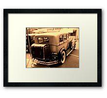 1930 Pierce Arrow6 Framed Print