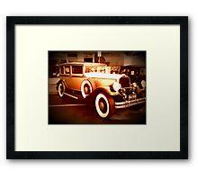 1930 Pierce Arrow9 Framed Print