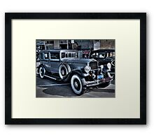 1930 Pierce Arrow11 Framed Print
