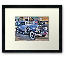 1930 Pierce Arrow12 Framed Print