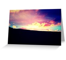 Pullman Sunset - Greeting Card Greeting Card