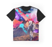 SPACE MOUNTAIN JELLY FISH ASTRONAUT  Graphic T-Shirt