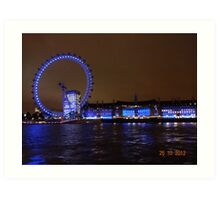 THE GREAT LONDON EYE Art Print