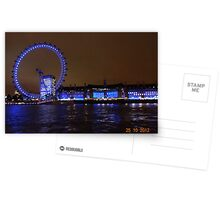 THE GREAT LONDON EYE Postcards