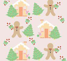 Gingerbread man & gingerbread house #1 by simplepaperplan