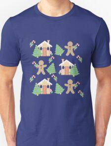 Gingerbread man & gingerbread house #1 T-Shirt