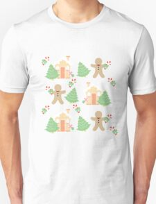 Gingerbread man & gingerbread house #1 T-Shirt