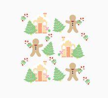 Gingerbread man & gingerbread house #1 Unisex T-Shirt