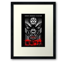 Honey Badger Fighter Framed Print