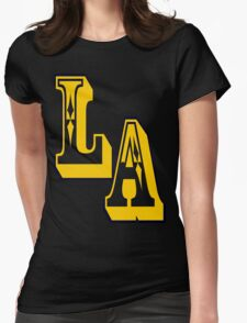 •°♥§Cool LA Logo Fabulous Clothing & Stickers§♥°• Womens Fitted T-Shirt
