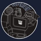 Soundwave: Superior (lineart) by NDVs