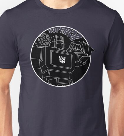 Soundwave: Superior (lineart) Unisex T-Shirt
