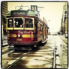 Melbourne Tram by sparrowhawk