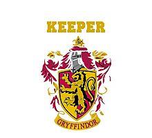 Gryffindor Keeper Photographic Print