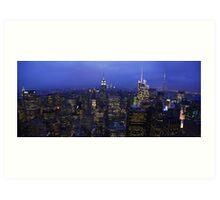 Lights of Manhattan Art Print