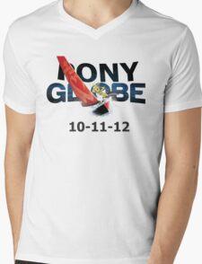 Pony Globe '12 Mens V-Neck T-Shirt