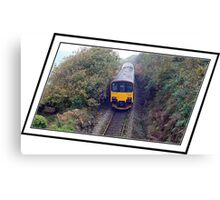 """ The most Picturesque rail trip in the UK"" Canvas Print"