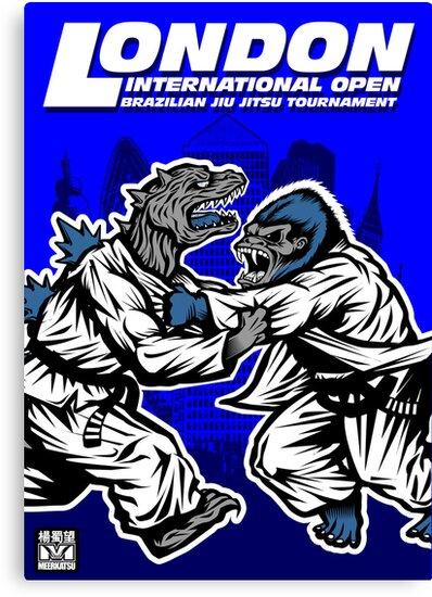 King Kong v Godzilla by Meerkatsu