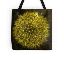 Dandelion Yellow Tote Bag