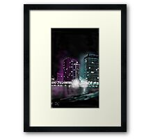 Saturday night Framed Print