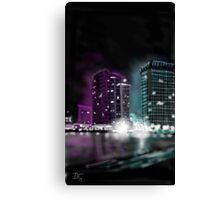 Saturday night Canvas Print