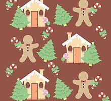Gingerbread man & gingerbread house #3 by simplepaperplan