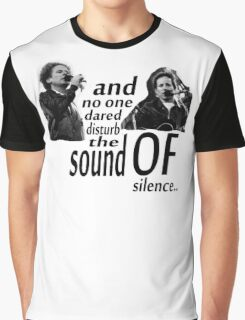 Simon & Garfunkel-The Sound Of Silence Graphic T-Shirt