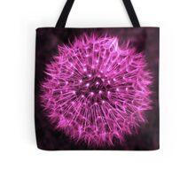 Dandelion Violet Tote Bag