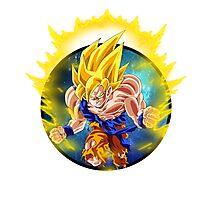 Super Saiyan Goku (SSJ) Photographic Print