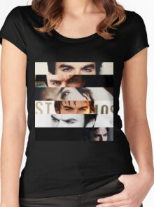 Ian Somerhalder's Eyes! Women's Fitted Scoop T-Shirt